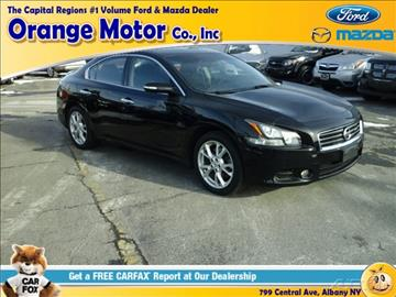 2012 nissan maxima for sale in new york for Orange motors albany new york
