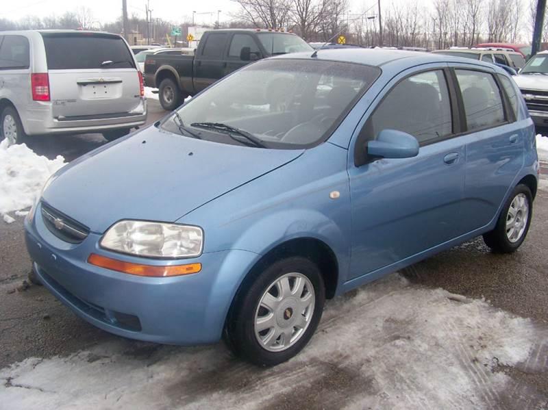 2005 Chevrolet Aveo Lt 4dr Hatchback In Decatur Il C And L Auto Sales