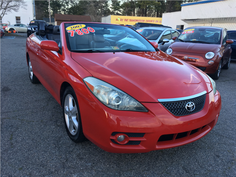 2007 Toyota Camry Solara for sale in Norfolk, VA
