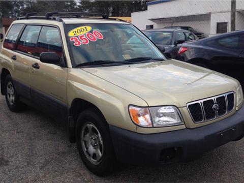 2001 Subaru Forester for sale in Norfolk, VA