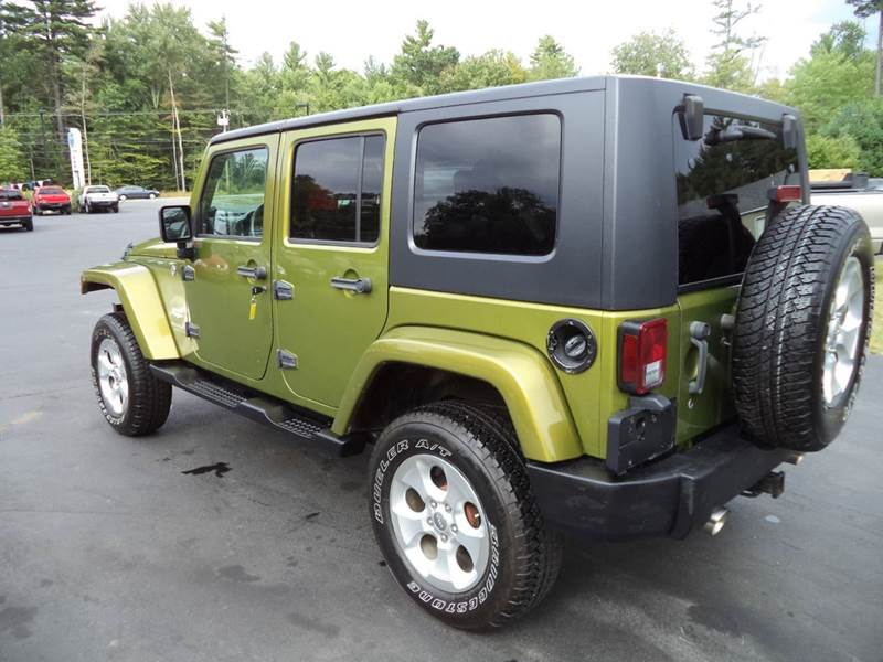 2007 jeep wrangler unlimited 4x4 sahara 4dr suv in chichester nh price auto sales. Black Bedroom Furniture Sets. Home Design Ideas