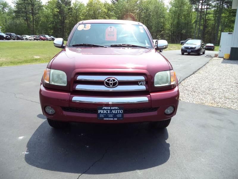 2003 Toyota Tundra SR5 Stepside Access Cab 4WD - Chichester NH
