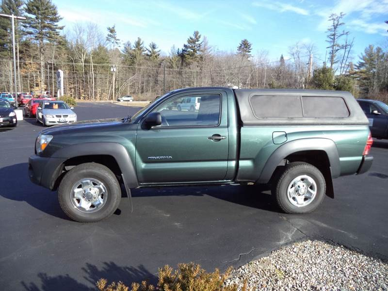 2010 toyota tacoma base 4x4 2dr regular cab 6 1 ft sb 5m in chichester nh price auto sales. Black Bedroom Furniture Sets. Home Design Ideas