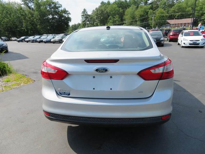 2012 Ford Focus SE 4dr Sedan - Chichester NH