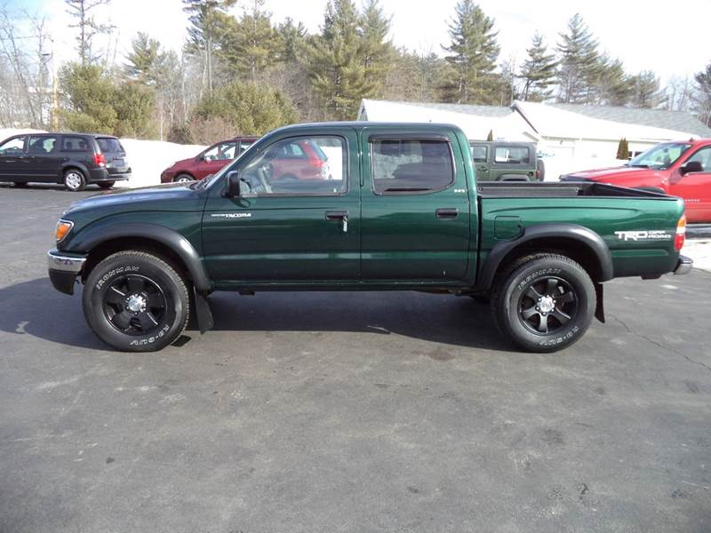 2002 toyota tacoma 4dr double cab v6 4wd sb in chichester nh price auto sales. Black Bedroom Furniture Sets. Home Design Ideas