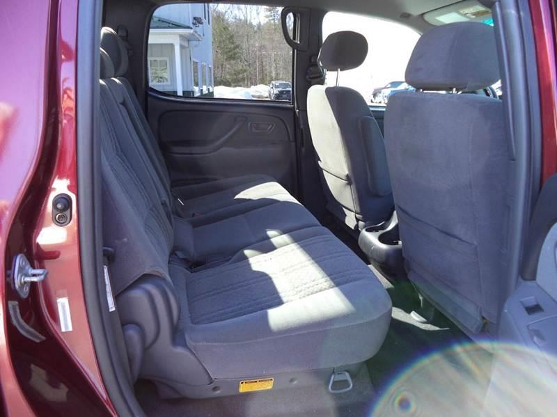 2004 Toyota Tundra 4dr Double Cab SR5 4WD SB V8 - Chichester NH