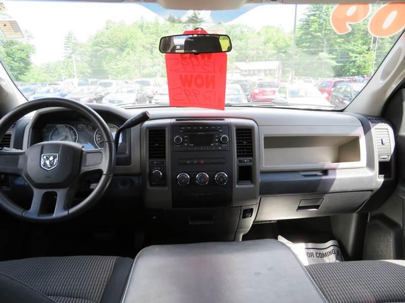 2009 Dodge Ram Pickup 1500 4x4 ST 4dr Quad Cab 6.3 ft. SB - Chichester NH