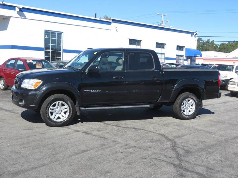 2005 toyota tundra limited double cab 4wd in chichester nh price auto sales. Black Bedroom Furniture Sets. Home Design Ideas