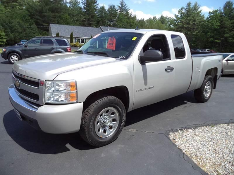 2008 chevrolet silverado 1500 4wd lt1 4dr extended cab 6 5 ft sb in chichester nh price auto. Black Bedroom Furniture Sets. Home Design Ideas