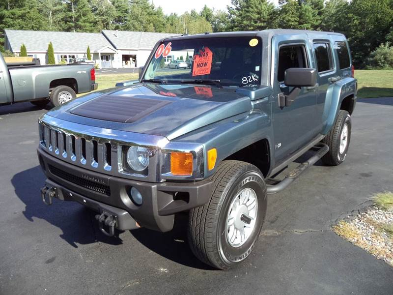 2006 hummer h3 base 4dr suv 4wd in chichester nh price auto sales. Black Bedroom Furniture Sets. Home Design Ideas