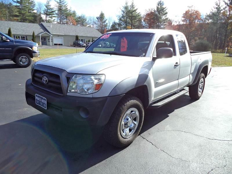 2005 Toyota Tacoma 4dr Access Cab V6 4WD SB - Chichester NH