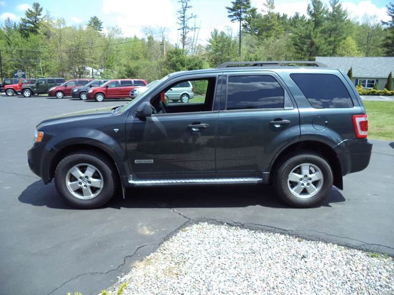 2008 ford escape xlt 4wd in chichester nh price auto sales. Black Bedroom Furniture Sets. Home Design Ideas