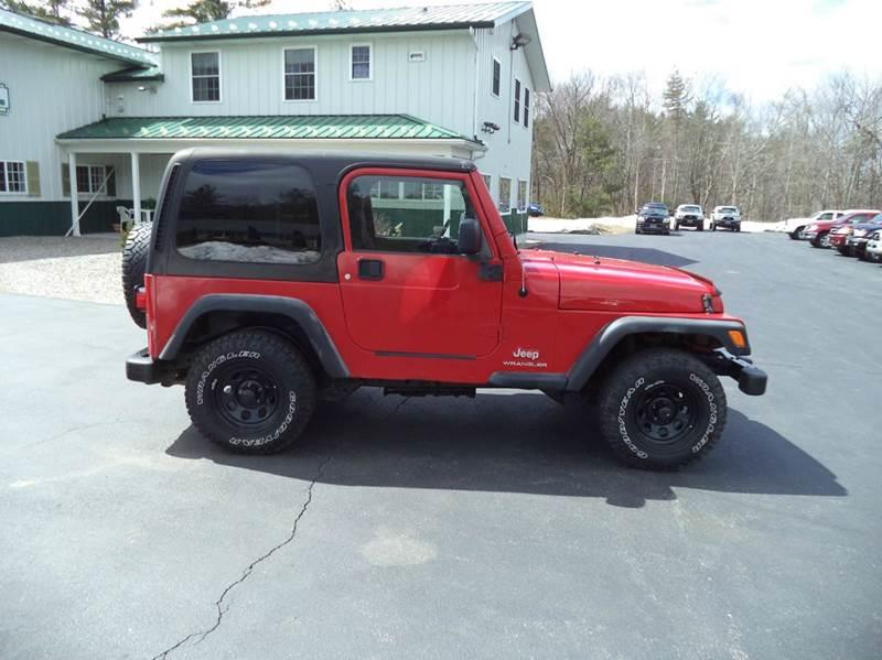 2005 Jeep Wrangler SE 4WD 2dr SUV - Chichester NH