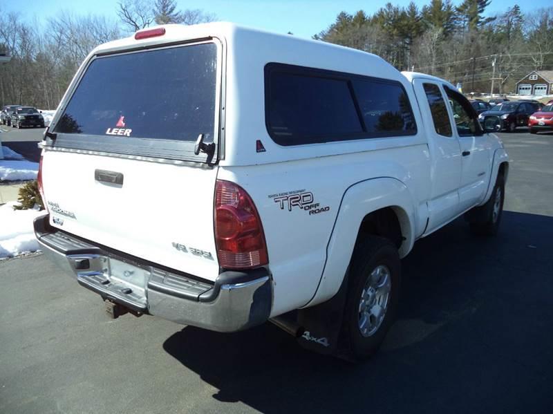 2006 Toyota Tacoma V6 4dr Access Cab 4WD SB (4L V6 5A) - Chichester NH
