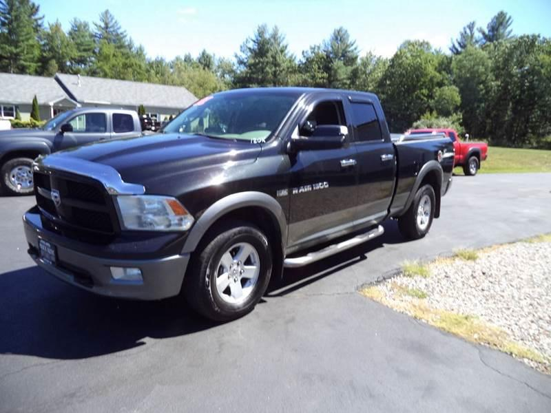 2011 RAM Ram Pickup 1500 4x4 Outdoorsman 4dr Quad Cab 6.3 ft. SB Pickup - Chichester NH