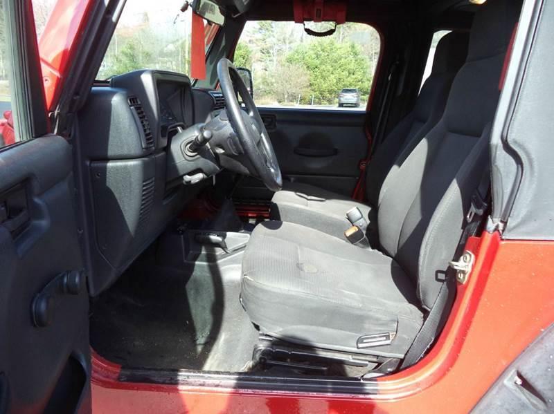 2006 Jeep Wrangler SE 2dr SUV 4WD - Chichester NH