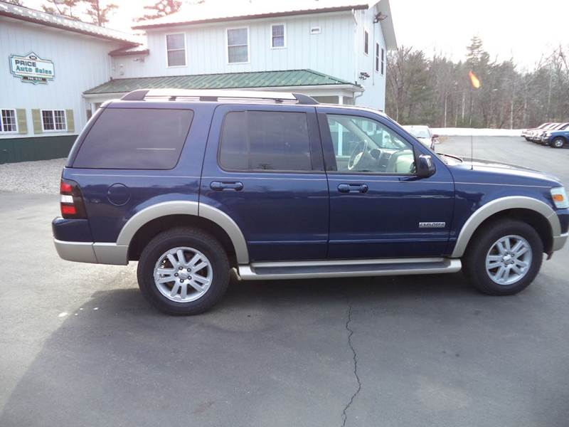 2007 ford explorer eddie bauer 4dr suv 4wd v6 in chichester nh price auto sales. Black Bedroom Furniture Sets. Home Design Ideas