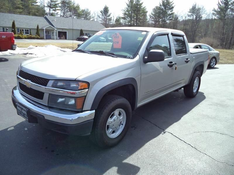 2005 Chevrolet Colorado 4dr Crew Cab Z85 LS 4WD SB - Chichester NH