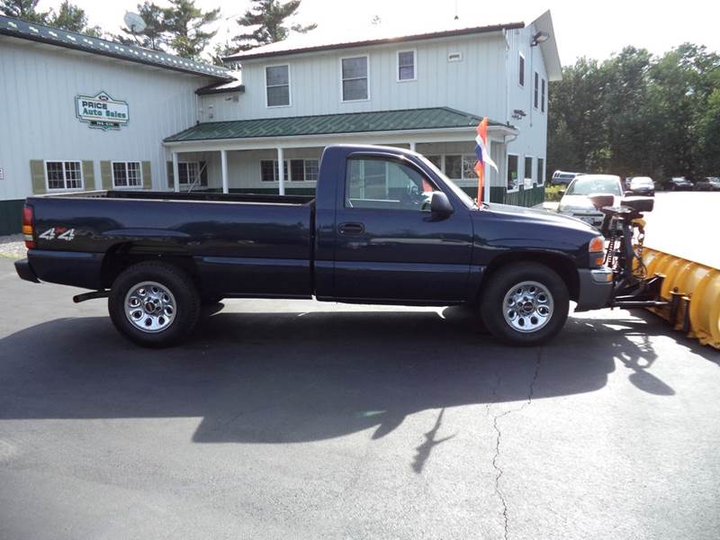 2007 gmc sierra 1500 classic sl1 2dr regular cab 4wd 8 ft lb in chichester nh price auto sales. Black Bedroom Furniture Sets. Home Design Ideas