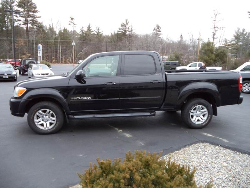 2005 toyota tundra limited 4dr double cab 4wd sb v8 in chichester nh price auto sales. Black Bedroom Furniture Sets. Home Design Ideas