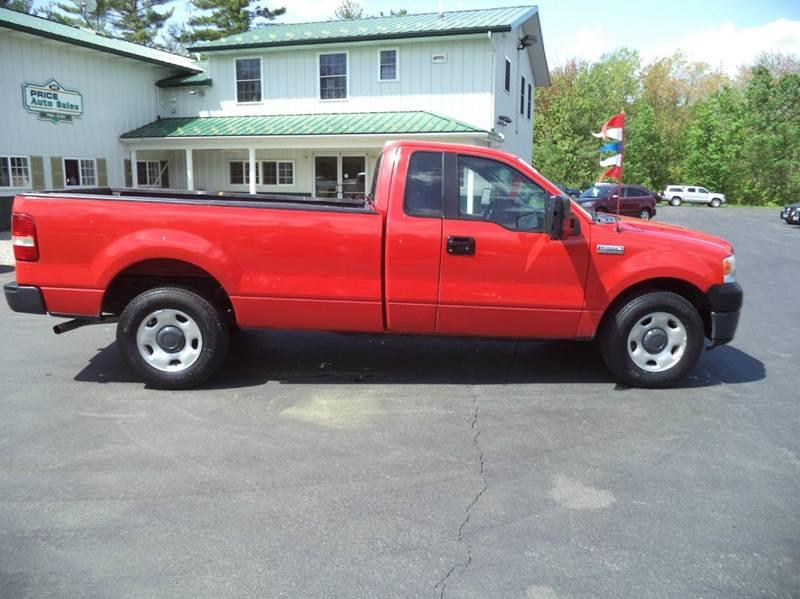 2008 Ford F-150 4x2 XL 2dr Regular Cab Styleside 8 ft. LB w/ Heavy Duty Payload Package - Chichester NH