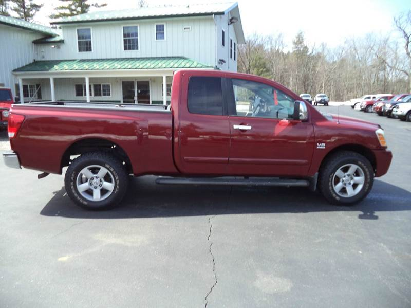 2004 nissan titan 4dr king cab le 4wd sb in chichester nh. Black Bedroom Furniture Sets. Home Design Ideas