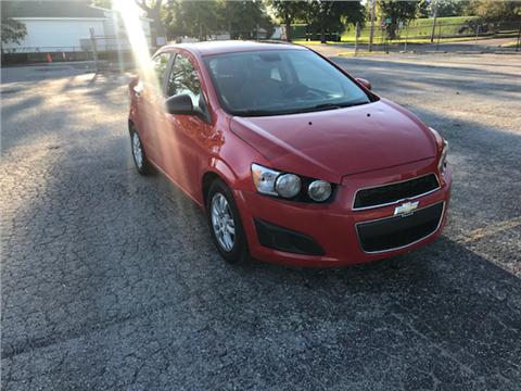 2012 Chevrolet Sonic for sale in Jeffersonville, IN