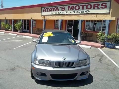 2003 BMW M3 for sale in Sacramento, CA