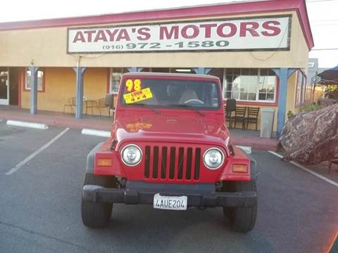 1998 Jeep Wrangler for sale in Sacramento, CA