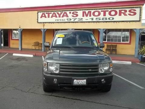2005 Land Rover Range Rover for sale in Sacramento, CA