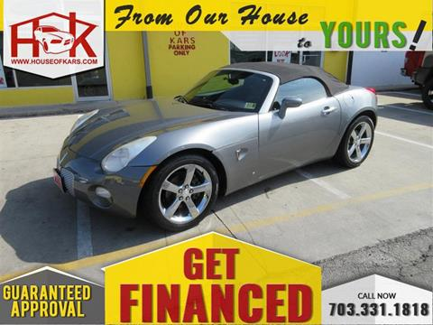 2006 Pontiac Solstice for sale in Manassas, VA