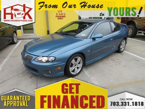 2004 Pontiac GTO for sale in Manassas, VA