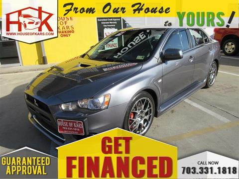 2011 Mitsubishi Lancer Evolution For Sale In Manassas, VA