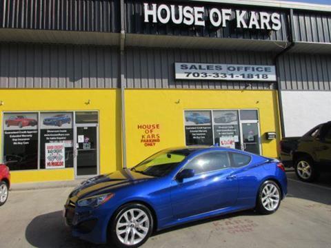 2013 Hyundai Genesis Coupe for sale in Manassas, VA