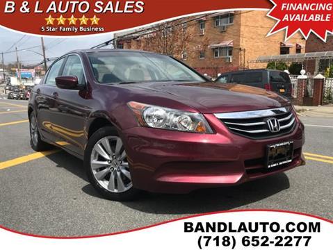 2011 Honda Accord for sale in Bronx, NY