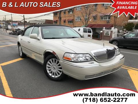 lincoln town car for sale in new york. Black Bedroom Furniture Sets. Home Design Ideas