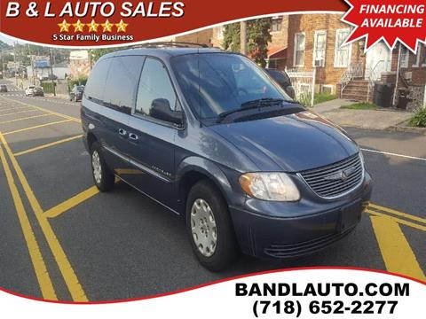2001 Chrysler Town and Country for sale in Bronx, NY