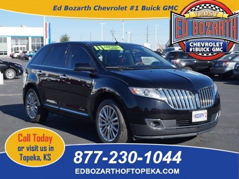 2011 Lincoln MKX for sale in Topeka, KS