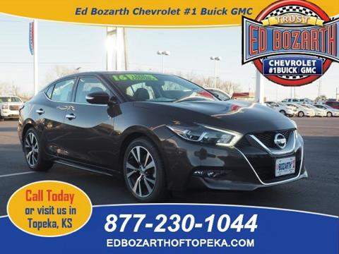 2016 Nissan Maxima for sale in Topeka, KS