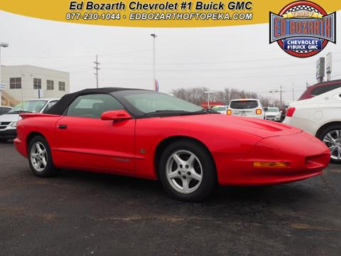 1995 Pontiac Firebird for sale in Topeka, KS