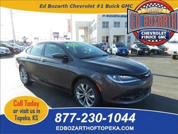 2015 Chrysler 200 for sale in Topeka, KS