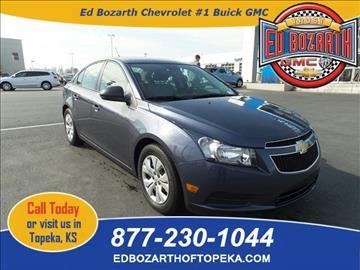 2014 Chevrolet Cruze for sale in Topeka, KS