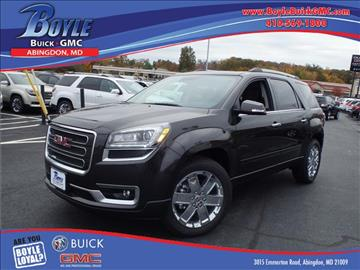 2017 GMC Acadia Limited for sale in Abingdon, MD