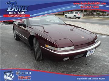 1990 Buick Reatta for sale in Abingdon, MD