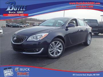 2017 Buick Regal for sale in Abingdon, MD