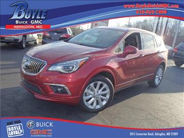 2017 Buick Envision for sale in Abingdon, MD