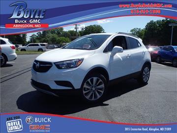2017 Buick Encore for sale in Abingdon, MD