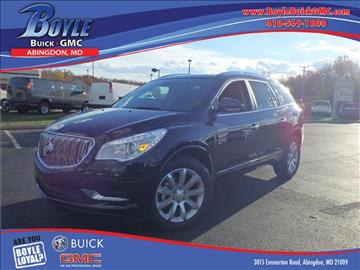 2017 Buick Enclave for sale in Abingdon, MD