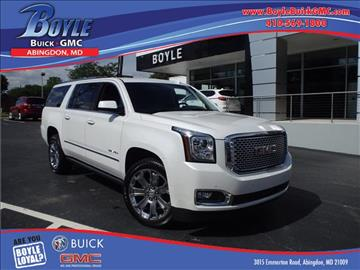 2016 GMC Yukon XL for sale in Abingdon, MD