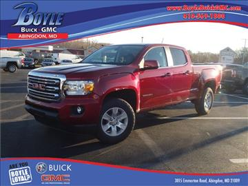 2017 GMC Canyon for sale in Abingdon, MD